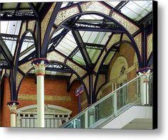 Look Up 1 Canvas Print / Canvas Art By Dorothy Berry-lound #liverpoolstreet #railwaystation #london  #interiordecor #printforsale