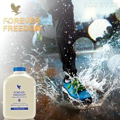Forever Freedom® has combined Aloe Vera with other substances that are helpful for the maintenance of proper joint function and mobility in a tasty, orange-flavored juice formula.   We've taken Glucosamine Sulfate and Chondroitin Sulfate - two naturally occurring elements that have been shown to help maintain healthy joint function and mobility - and married them with our stabilized Aloe Vera gel. To this, we've added vitamin C and MSM, a primary source of bio-available...