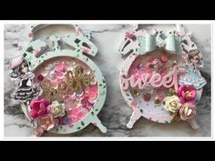 (19) Saturday Morning Crafts #5 | Shaker Embellishments | Polkadoodles - YouTube Fancy Fold Cards, Folded Cards, 3d Cards, Mason Jar Cards, Fun Crafts, Paper Crafts, Handmade Birthday Cards, Handmade Cards, Card Making Tutorials
