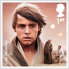 Luke Skywalker stamp Star Wars