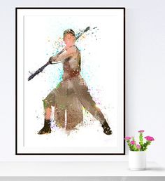 Rey Star Wars VII Poster, Star Wars The Force Awakens, Rey Star Wars 7 Art Print, Posters Star Wars, Star Wars Art, Star Wars VII, Watercolor Star Wars, Wall Art Star Wars  All my posters are available in this sizes:  5 x 7 inch 8 x 10 inch 11 x 14 inch 12 x 16 inch 13 x 19 inch  A5 14.8 x 21 cm A4 21 x 29.7 cm A3 29.7 x 42 cm A3+ 32 x 45 cm   Other Star Wars https://www.etsy.com/it/shop/iloveprint?section_id=18323493&ref=shopsection_leftnav_5   Read descriptions: sizes, colors and…