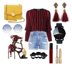 """""""Untitled #175"""" by lastfatima ❤ liked on Polyvore featuring R13, Sonia Rykiel, Dsquared2, NYX, Marc Jacobs, Stila and Linda Farrow"""