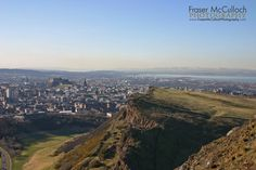 I'm not the first person to take this photograph and I certainly won't be the last.   If you're ever fortunate enough to visit Edinburgh, take a bit of time to climb Arthur's Seat to get the best view of the castle and the rest of the city, with the Firth of Forth and Ochil Hills in the distance.  More information can be found at: http://www.dreamstime.com/stock-photography-image40539494#res7680250  #edinburgh #arthursseat #edinburghcastle #firthofforth #scotland #frasermccullochphotography
