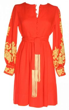 Anne Fogarty 1970's dress.