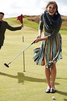 elspeth sweater skirt #anthrofave #elegance