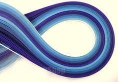 Quilling Paper Strips 150 strips 1/8 x 193/4 by WonderCraftShop, $6.00