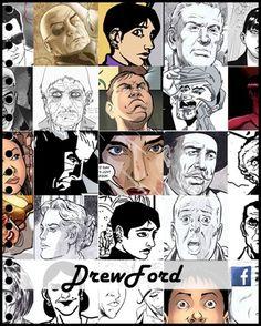 #drewford #comicsonline #comicsmagazine #editorial #comics #graphicnovels #magazine #ecomics #fumettimagazine #zavalacm
