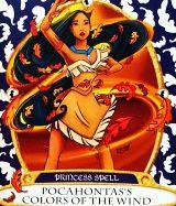 Sorcerer's of Magic Kingdom Card: Pocahontas
