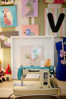 See How This Blogger Turned an Out Building into a Sewing Studio!