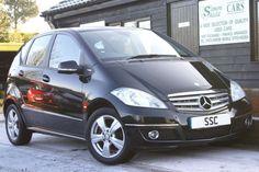Mercedes-Benz A Class 2.0 A160 CDI Avantgarde SE 5dr CVT Auto Hatchback Diesel Metallic Cosmos Black for sale http://www.simonshieldcars.co.uk/used/mercedes-benz/a-class/a160-cdi-avantgarde-se-5dr-cvt-auto/ipswich/suffolk/15732785  #mercedesbenz #black #aclass