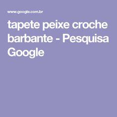 tapete peixe croche barbante - Pesquisa Google
