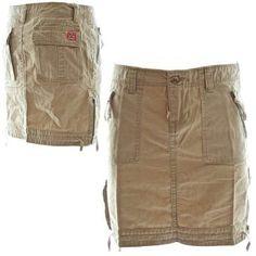 c6a60de2e1424f Molecule Women's Safari Sidewinder Cargo Skirt, Small Desert Khaki Cream  Molecule. $40.99 Women's Active