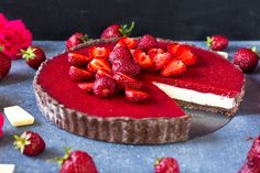 Tart, Sweet Recipes, Cheesecake, Food And Drink, Deserts, Pie, Cheesecakes, Tarts, Torte