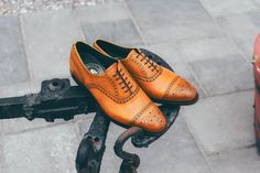 Step out in style with the sophisticated Robinson Armagh semi-brogue from our Professional Collection. Choose black or chestnut.  #robinsonsshoes #semibrogue #mensshoes New Shoes, Men's Shoes, Dress Shoes, Armagh, Shoe Horn, Our Legacy, Shoe Tree, Goodyear Welt, Types Of Shoes