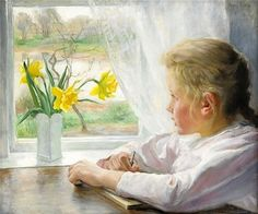 Fanny Brate (Swedish, 1861 - 1940) was a Swedish Impressionist who in 1880, at the age of eighteen was accepted at the Royal Swedish Academy of Arts. She was forced to give up painting after her ma...