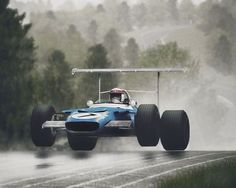 Flying Cars! Matra MS80 from 1969, Jackie Stewart :: theluckyexplorer