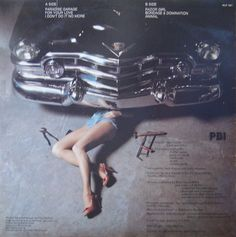 "The Zebras ""Paradise Garage"" back cover"