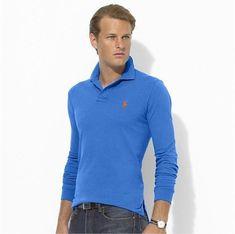 e152d8bf5 Ralph Lauren Man Long Sleeves Polo Shirt Crest Big Pony Deep Green