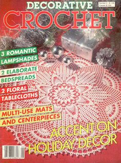 Decorative Crochet Magazines 5 - Gitte Andersen - Picasa Web Albums