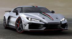 Meet The New V10-Powered Italdesign 2017 Supercar