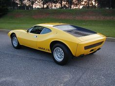 1970 AMC AMX/3 #What an awesome car.  Too bad more people didn't like it...  AMC AMX
