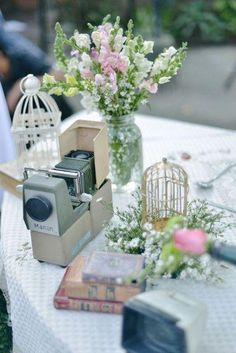 vintage wedding decorations - Google Search