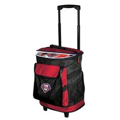 Philadelphia Phillies MLB Rolling Tailgate 24 Can Insulated Cooler Bag