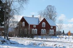 old house, western Finland