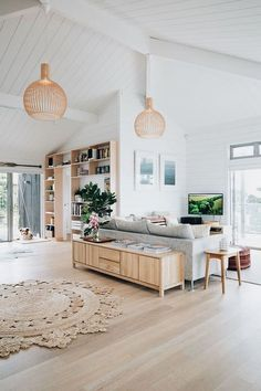 Awesome 38 Stunning Modern Coastal Living Room Decoration Ideas #home