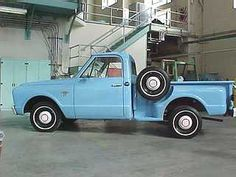 67 Chevy C10 Stepside.