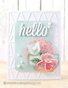 joy taylor, fresh cut, hello die, img5178, hello card, cut collect, inspir, cards