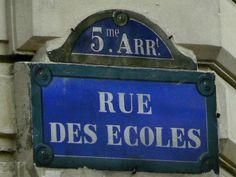 rue des Ecoles - Paris 5ème
