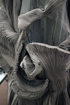 Detail from a dress by Yiqing Yin, Haute Couture, F-W 2012-2013