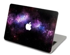 Purple Nebula Decal for Macbook Pro, Air or Ipad Stickers Macbook Decals Apple Decal for Macbook Pro / Macbook Air Macbook Accessories, Tech Accessories, Ipad, Apple Laptop, Apple Iphone, Mac Laptop, Calcomanía Macbook, Coque Mac, Mac Book Cover