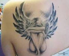 Resultado de imagem para desenhos de tatuagens de anjos