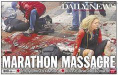 El diario Daily News viene siendo el centro de críticas en Estados Unidos por decidir retocar su foto de portada para su edición impresa, imagen que en la versión original muestra la herida de una mujer afectada por las explosiones sucedidas en la maratón de Boston.