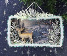 Christmas Shadow Box | www.etsy.com/shop/ChristmasNotebook | christmasnotebook | Flickr