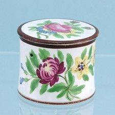 Bristol Pottery screw top box. Andrew Dando Antiques - Archive
