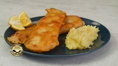 Σήμερα φτιάχνουμε μπακαλιάρο με τραγανό κουρκούτι και μία πολύ νόστιμη σκορδαλιά! Πρόκειται για μία από τις παραδοσιακές συνταγές για μπακαλιάρο σκορδαλιά, που σίγουρα θα σου αρέσει! Υλικά Για το Κουρκούτι 230 γρ αλεύρι γ.ο.χ. Αλάτι-Πιπέρι 10 γρ μπέικιν 20 ml ούζο 330 Cauliflower, Mashed Potatoes, Good Food, Fun Food, Seafood, Biscuits, Garlic, Food And Drink, Appetizers