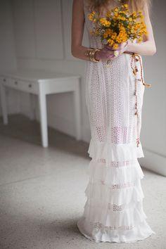 WINDFLOWER Gown by kelseygenna on Etsy