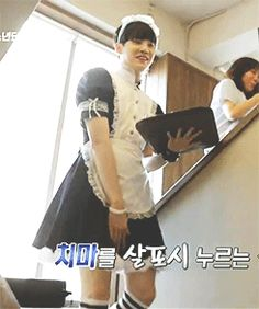 Is it bad that Suga looks better in a dress than me