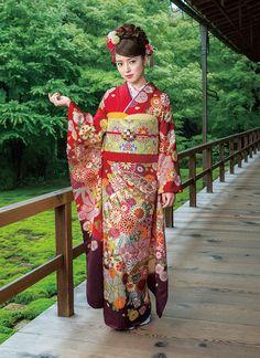 マイン(M-503)|成人式の振袖のご購入/レンタルは京都きもの工房グループ<KYOTO SWEET COLLECTION>