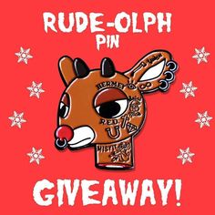 #Repost @joseqzada  Rude-Olph pin Christmas GIVEAWAY! --for a chance to win--- 1. Like this post 2. Follow me 3. Tag 1 friend in the comments who loves Christmas! (Must do all three to be entered to win)  One lucky winner will be announced on Christmas day @ 8pm!  quezada.bigcartel.com Link in bio #pingiveaway #pinstagram #pingame #gift #hatpin #illustrator #vectorart #lapelpin #graphicdesign #pinoftheday #pincollector #pincommunity #pinlife    (Posted by https://bbllowwnn.com/) Tap the…