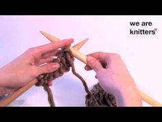 Hacer punto ¿Cómo tejer punto jersey?- WE ARE KNITTERS, UE, 2013