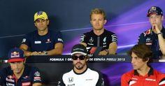 GRAN PREMIO DE ESPAÑA: Thursday's FIA press conference. Read more @ http://www.allymon.com