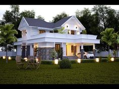 Dream Home for Mr.Sabu, Designed by Shine Builders Consultancy ( House Roof Design, Single Floor House Design, Duplex House Design, Small House Design, Kerala House Design, Kerala Houses, House Elevation, Home Design Plans, Awesome Bedrooms