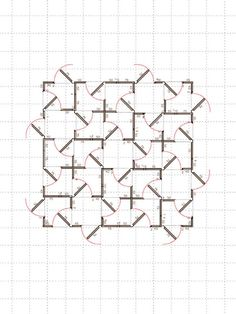 Franka Hörnschemeyer is an artist who lives and works in Berlin. Her plan drawings lie between graphic sketches and architectural projection: they look like textures, but they also reveal the potential of constructing a movable space, fragmented and continuous at the same time. Some of her...