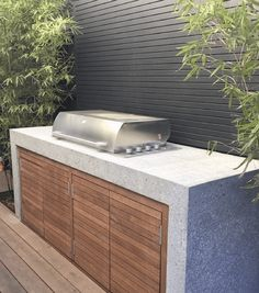 Outdoor Bbq Kitchen, Outdoor Kitchen Design, Outdoor Kitchens, Backyard Barbeque, Outdoor Barbeque Area, Patio Grill, Outdoor Grilling, Bbq Grill, Built In Bbq