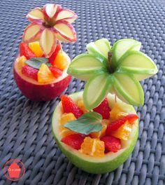 Q-e-zine: Des pommes fleurs bien appétissantes !