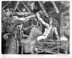 unlike the other characters in Beowulf, Grendel fights without a weapon.